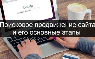 Пошаговая инструкция по продвижению сайтов в поисковиках