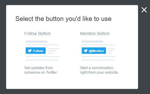 кнопки твиттера на сайт
