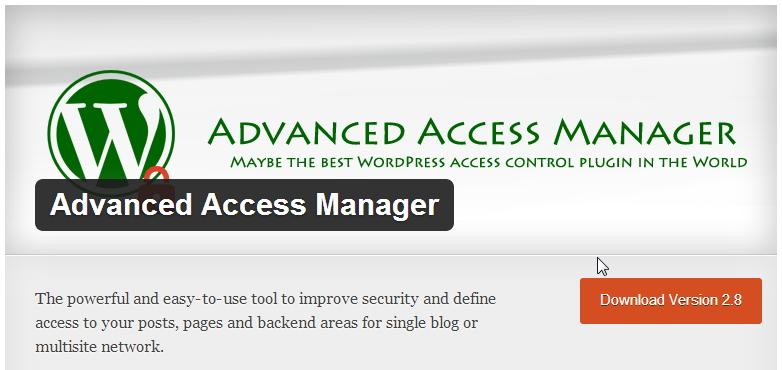 Настройка доступа в Вордпресс через плагин AAM
