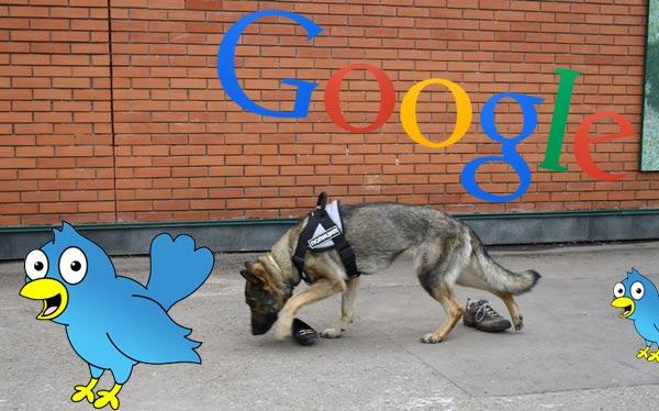 Индексирование твитов в гугле